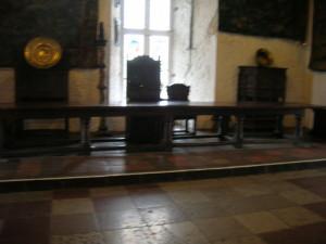 Castle life - hall