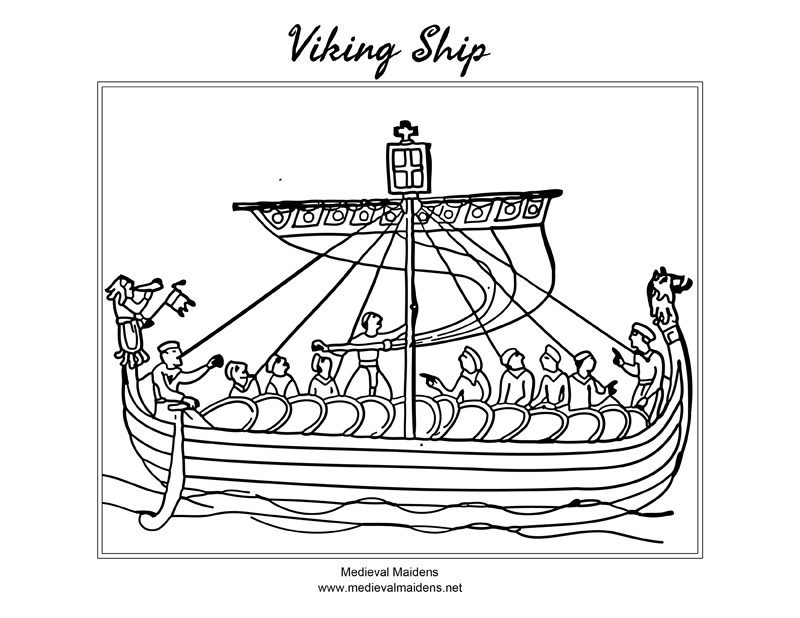 Download a sketch of a Viking Shipto color
